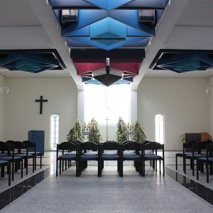 Trauerhalle innen Bestattungen Richter