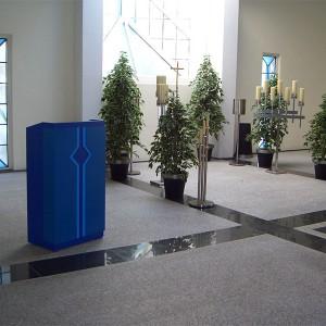 Trauerhalle Innenbereich Bestattungen Richter
